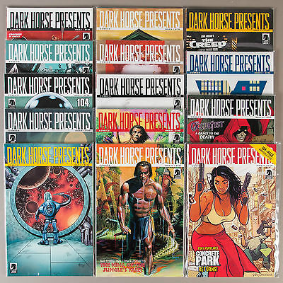 Dark Horse Presents #1-14, (Vol. 2), Lot of 14 comics, compl. VF+ set