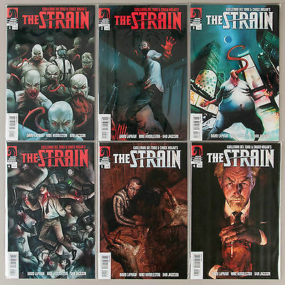 The Strain #1-11, Full Run, Lot of 11 Dark Horse comics, complete VF+ set