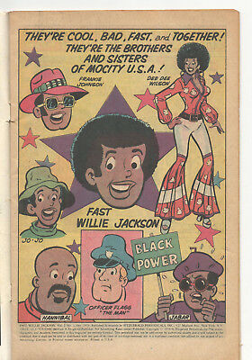 VINTAGE 1976 'FAST WILLIE JACKSON' COMIC BOOK! 1st ISSUE! VOL 1, No 1