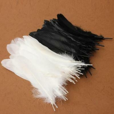 50pcs  Nature Large Goose Feathers 6-8 inches /15cm to 20cm Top Quality