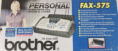 Brother FAX-575 Personal Plain Paper Fax, Phone and Copier