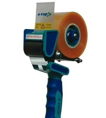 E-TAPE Tape Dispenser Gun Machine Packaging 150m For Clear Or Brown Buff etape