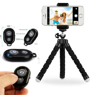PrimeCables® Tripod Stand Holder+Bluetooth Remote Control For iPhone,cell Phone