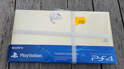SONY CUSTOM FACEPLATE OR GOLD Sur PS4 Playstation 4 Neuf Sous Blister