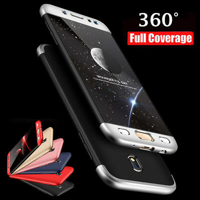 For Samsung Galaxy J3/J5/J7 Pro S9 Plus Hybrid 360° Full Protective Case Cover