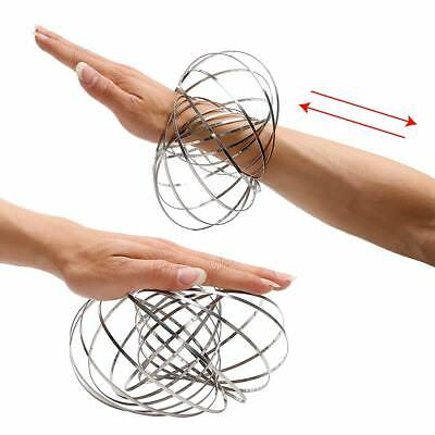 Amazing Kinetic Spring Toy Flow rings Outdoor Game Intelligent Toy FlowRing Toys