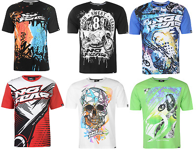 No Fear T-Shirt T shirt Tshirt Kurzarm Herren Top Motocross Graphic 8376