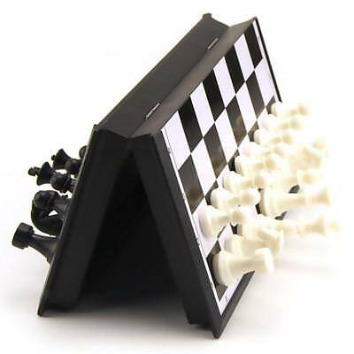 32 Chess Pieces Plastic Checkers Magnetic Chessboard Travel Game Party Toys