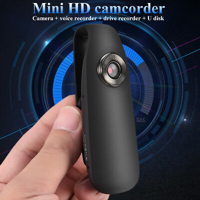 HD 1080P 12MP Mini Camcorder Dash Cam Body Motorcycle Bike Motion Action Camera