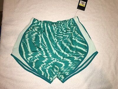 """Nike Tempo Dri-Fit Printed 3"""" Womens Running Shorts Size Small"""
