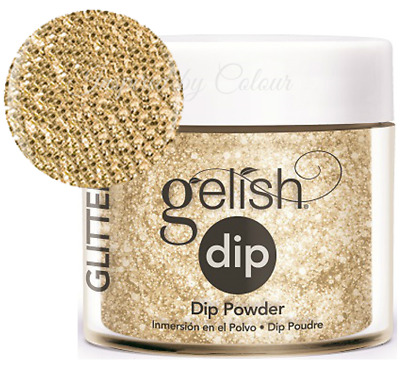 Harmony Gelish Dip System SNS Dipping Powder - ALL THAT GLITTERS IS GOLD 23g
