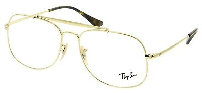 d56b21f9ef NWT RAY-BAN RX6389 Men s Eyeglasses Lt. Brown 57-16-145  173 ...