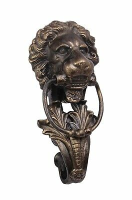 Door - Cast Iron Lion Head Door Knocker Bronze Colour # 26Xl50