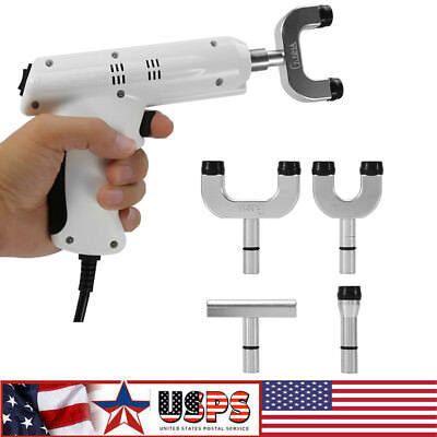 110V 4 Heads Professional Chiropractic Tools Electric Spine Adjusting Corrector