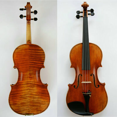 Outstanding Violin!Stradivari 1716 Messiah Violin Oil Varnish Amazing Tone