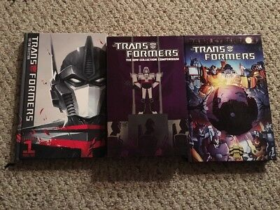 Transformers IDW Collection Compendium Phase 2 Hc Dark Cybertron Hc Lot