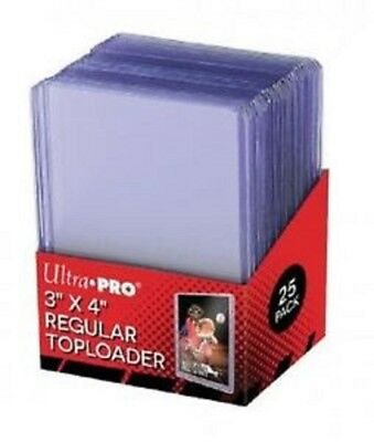 Ultra Pro Toploader - Card Protectors Hard Sleeves Top Loaders - Mtg Pokemon Etc