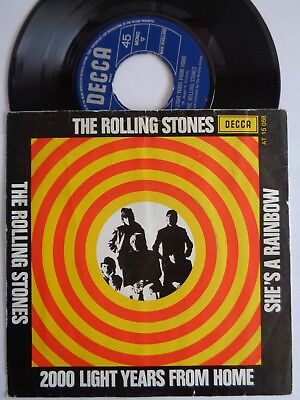 The Rolling Stones 45 2000 Light Years From Home