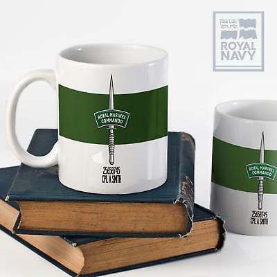 Royal Marines Commando Personalised Mug Ceramic Tea Coffee Cup Gift MM191