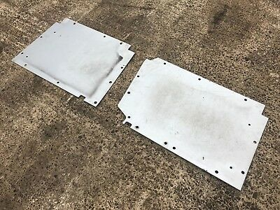Land Rover Defender Puma Tdci Front Floor Pans - Other Colours Available