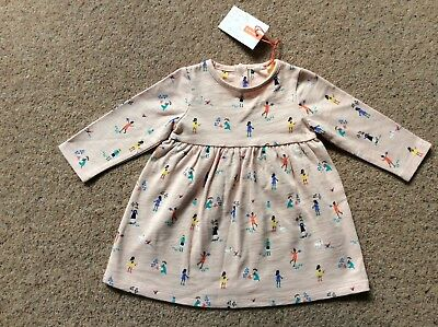 John Lewis Girls Dress BNWT Age 0-3 Months