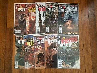 Run of 10 All Star Western #1 2 3 4 5 6 7 8 9 10 DC Comics (2011) VF/NM