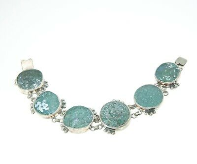 Roman Glass Bracelet Authentic & Luxurious With Certificate from Holyland