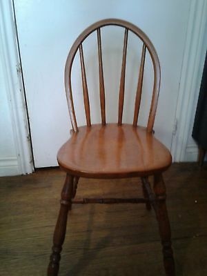 adorable antique miniature windsor chair