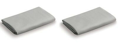 (2) Pack of NEW Graco Pack 'N Play Playard Fitted Sheet, Stone Grey.