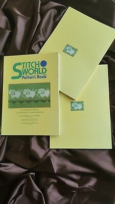 Brother Knitting Machine Stitch World I Pattern Book