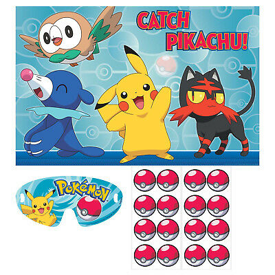 Pokemon Pin Party Game