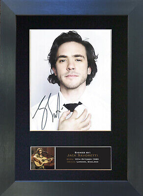 JACK SAVORETTI Signed Mounted Autograph Photo Prints A4 704