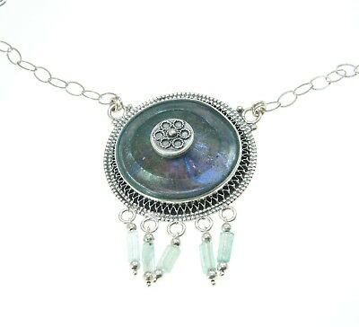 New Roman Glass Pendant Authentic & Luxurious With Certificate from Jerusalem