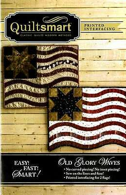 OLD GLORY WAVES FUN PACK SEWING PATTERN, From Quiltsmart NEW