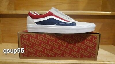 VANS OLD SKOOL Retro Block Color Beige Tan Blue Red Yacht