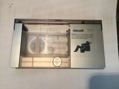Maxell VHS-C to VHS VCR Player Cassette Tape Adapter - Works well.