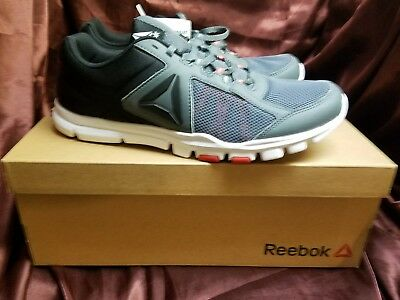 NEW REEBOK- YOURFLEX Train 9.0 MT Running Shoes Alloy Red Black ... 12bead001