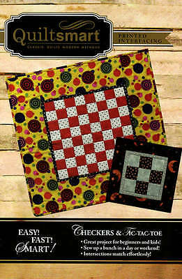 CHECKERS GAME FUN PACK SEWING PATTERN, From Quiltsmart NEW