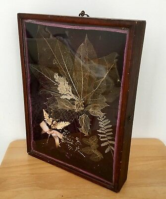 Antique Rare Victorian Wooden Encased Wedding Day Memories