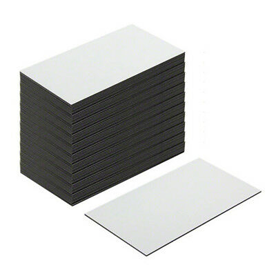 MagFlex® Lite Flexible Magnetic Labels - Gloss White Dry Wipe (500 Sheets)