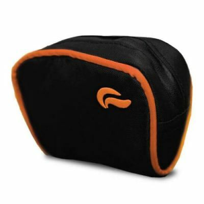 Skunk GoCase Smell Proof Bag -  BLACK WITH ORANGE DETAILS