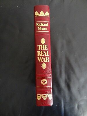 The Real War by Richard Nixon SIGNED AUTOGRAPHED NUMBERED  Limited Edition