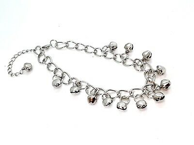 Ankle Bracelet with Bells Bohemian Moroccan Ethnic Anklet 12 Bells Dancing Beach