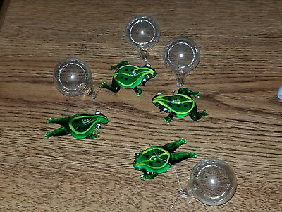 Ganz Floating Glass Fish (set of 4 frogs)