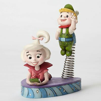 Enesco Hanna Barbera The Jetsons Judy and Elroy Figurine by Jim Shore