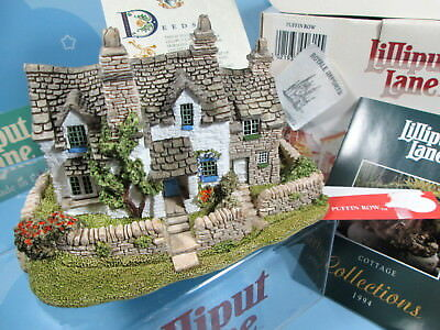 Lilliput Lane Puffin Row 615 English Collection 1992 New In Box England Retired