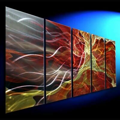 305-12  METAL WALL SCULPTURE  Original Abstract Art  Home Decor  Hand Made