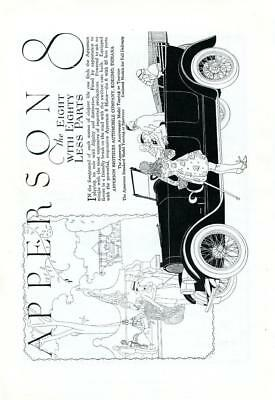 1919 Vintage Early Original Magazine Advertising Ad Print Apperson 8