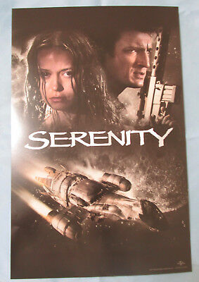 Serenity Movie Poster Fan Expo 2017 Nathan Fillion Summer Glau Firefly