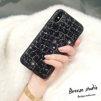 NEW Fashion Diamond Bling Glitter Shining Phone Case For iPhone X 7 8 6 6S Plus